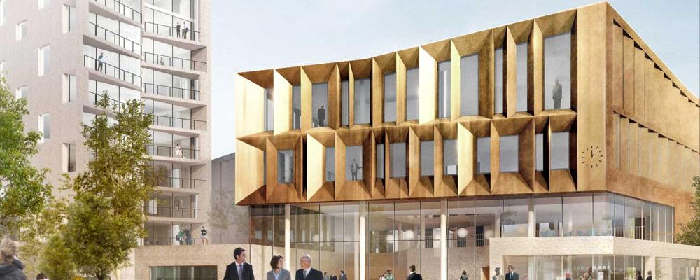 2014-2017, Middelfart Kommune - Kulturøens Bycenter as - Nyt Rådhus og Butikscenter på ca. 12.000 m2