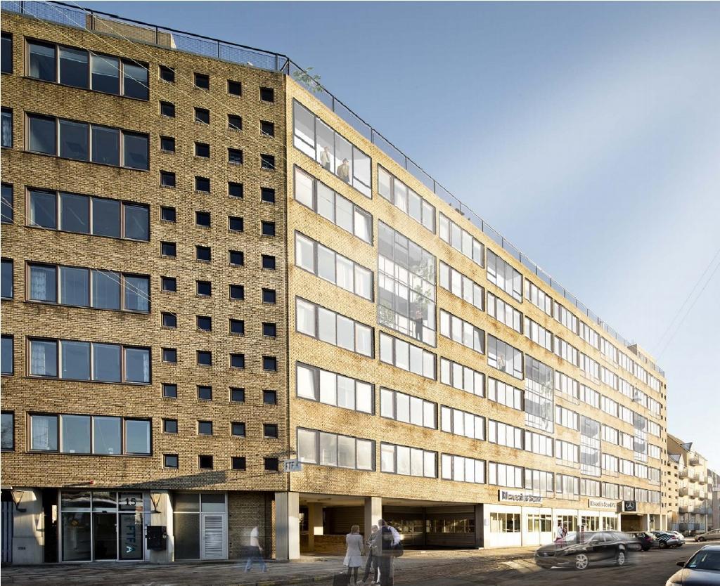 2016-2018, Ældre Sagen - Nyt kontordomicil på ca. 8.000 m2 på Islands Brygge