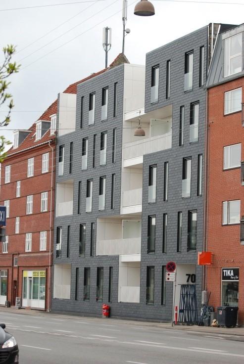 2010-2013, Falk-Rønne & Kierkegaard A/S, Ungdomsboliger på Jyllingevej på ca. 1276 m2