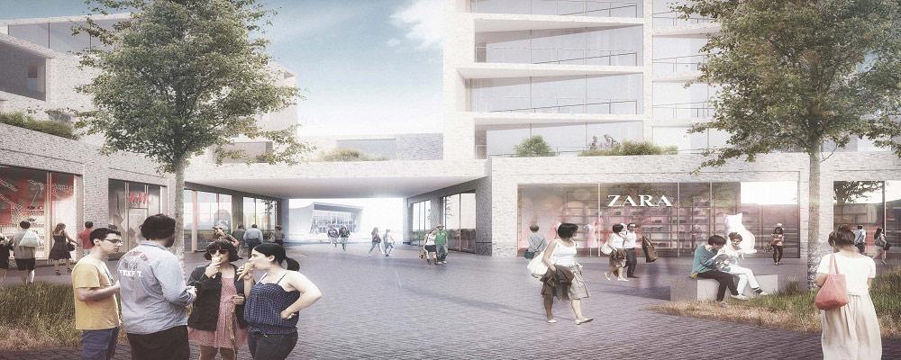 2016-2017, Kulturøens Bycenter as - Butikscenter på ca. 3.000 m2 i Middelfart