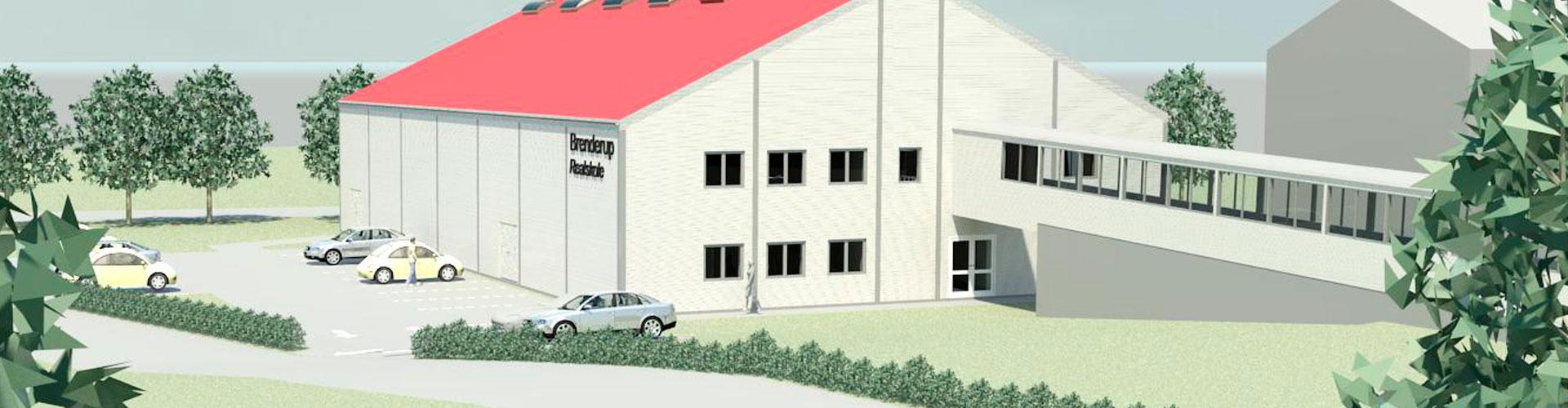 2014-2016, Brenderup Realskole - Opførelse af Ny Multihal og klasselokaler