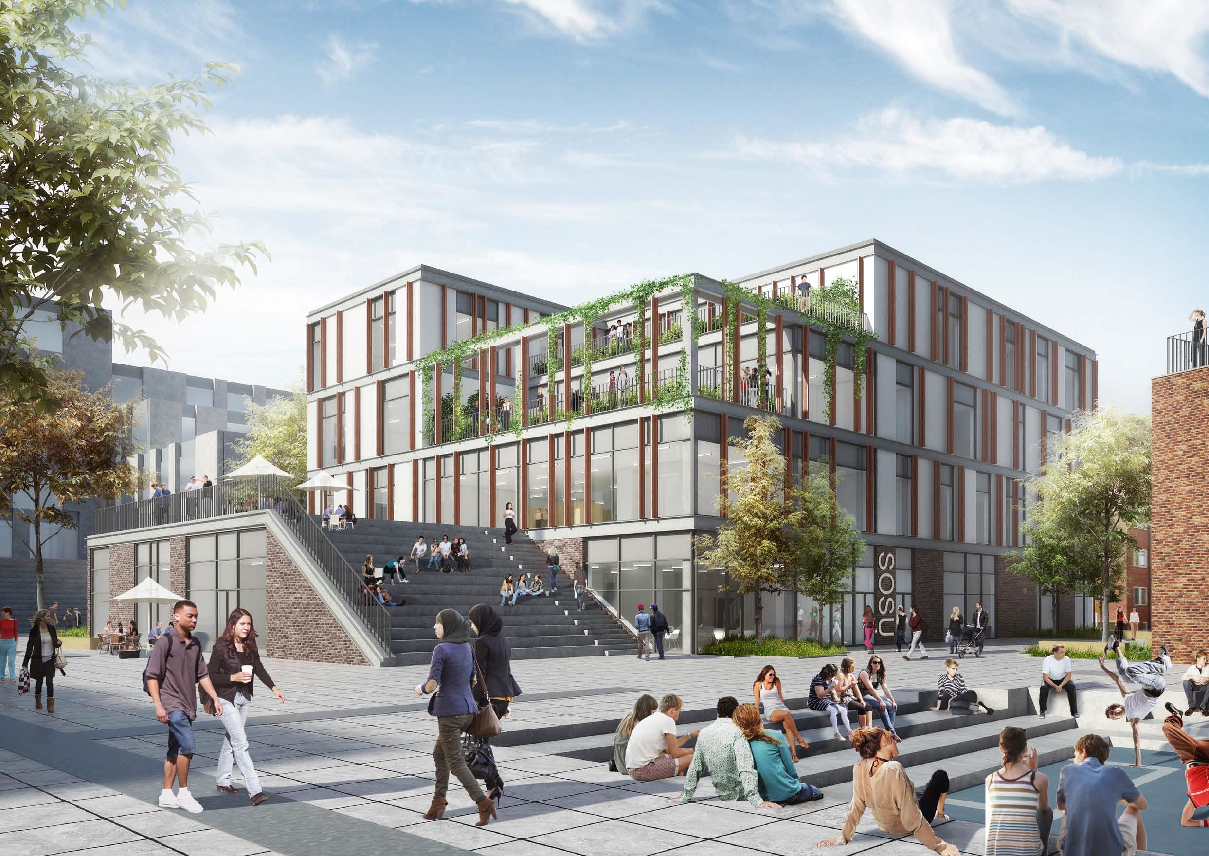 2016-2020, Social og Sundhedsskolen Fredericia Vejle og Horsens - Ny Social og Sundhedsskole på Camp